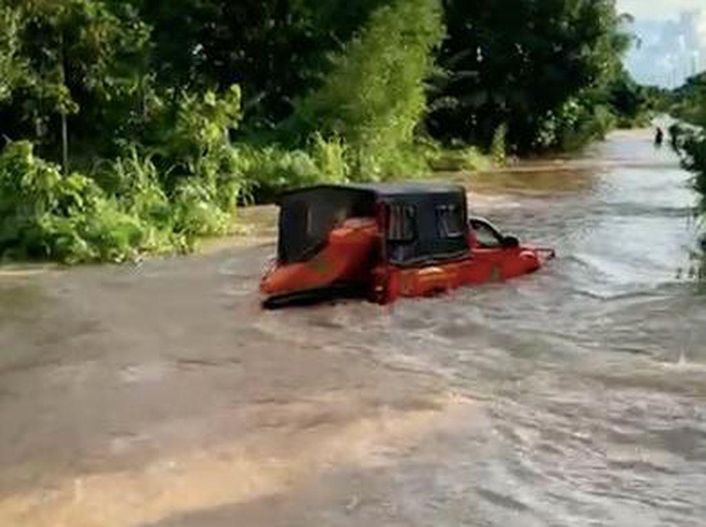 Kaltara-Kaltim Dilanda Banjir, Ratusan Rumah Terendam