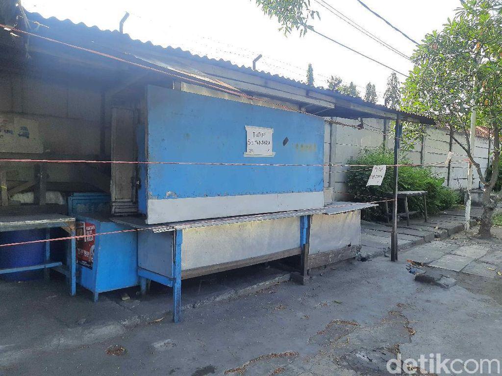 Salah Satu Pemilik Disebut Meninggal Karena COVID, 4 Warung di Surabaya Ditutup