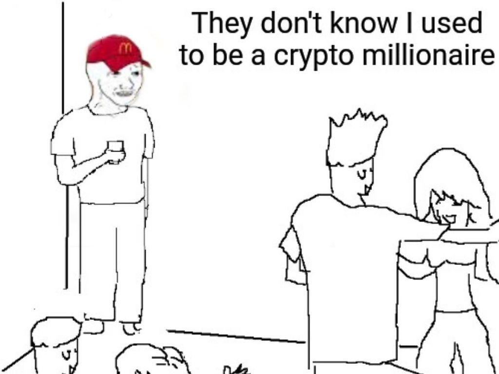 10 Meme Gambarkan Kerasnya Dunia Crypto