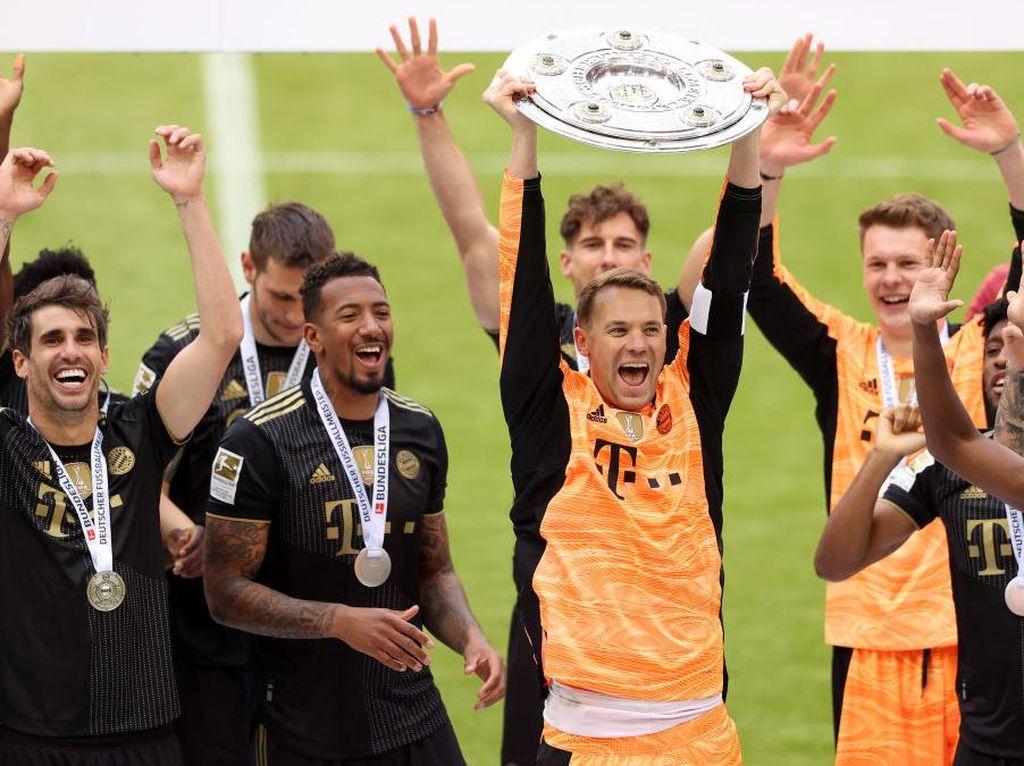 Klasemen Akhir Liga Jerman 2020/21