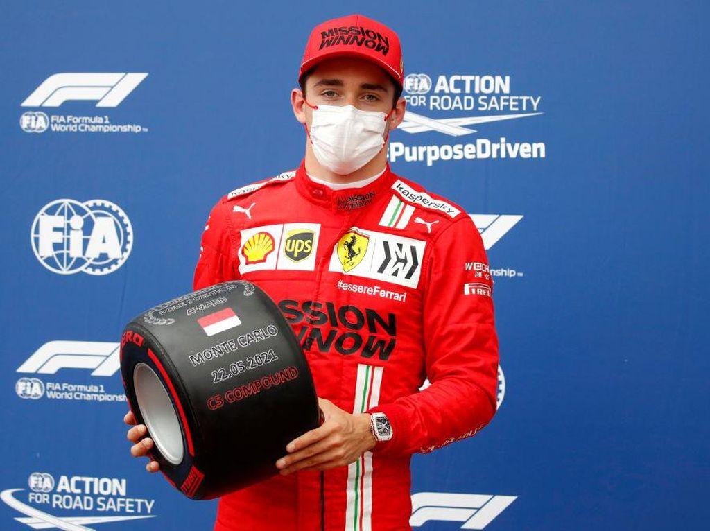 Kualifikasi F1 GP Monako 2021: Leclerc Raih Pole, Hamilton Start Ketujuh