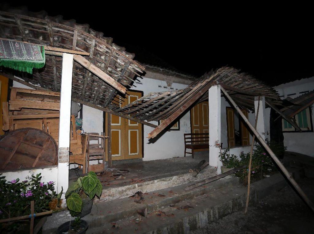 Update Dampak Gempa Blitar M 5,9: 291 Rumah di 8 Daerah Jatim Rusak