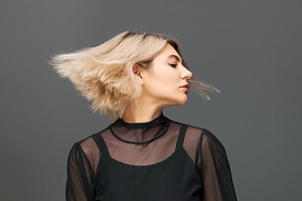 Ilustrasi gaya rambut untuk rambut tipis