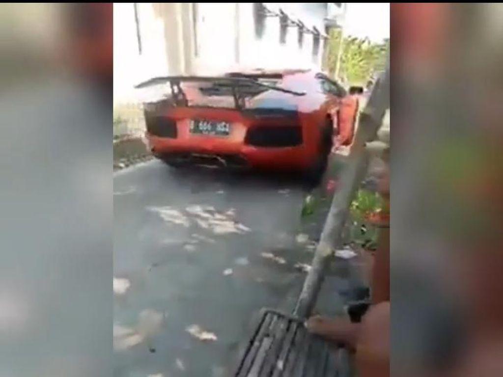 Pemilik Lamborghini Viral Masuk Kampung di Lamongan Disebut Hanya Lulusan SMP