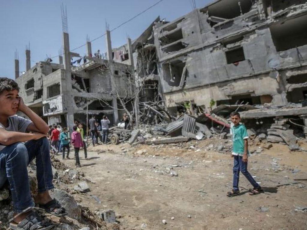 Bantuan Kemanusiaan Tiba di Gaza Usai Gencatan Senjata Israel-Hamas