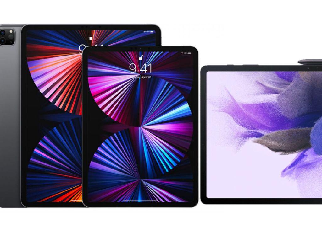 iPad Pro 2021 dan Galaxy Tab S7 FE 5G Berlomba Masuk Indonesia