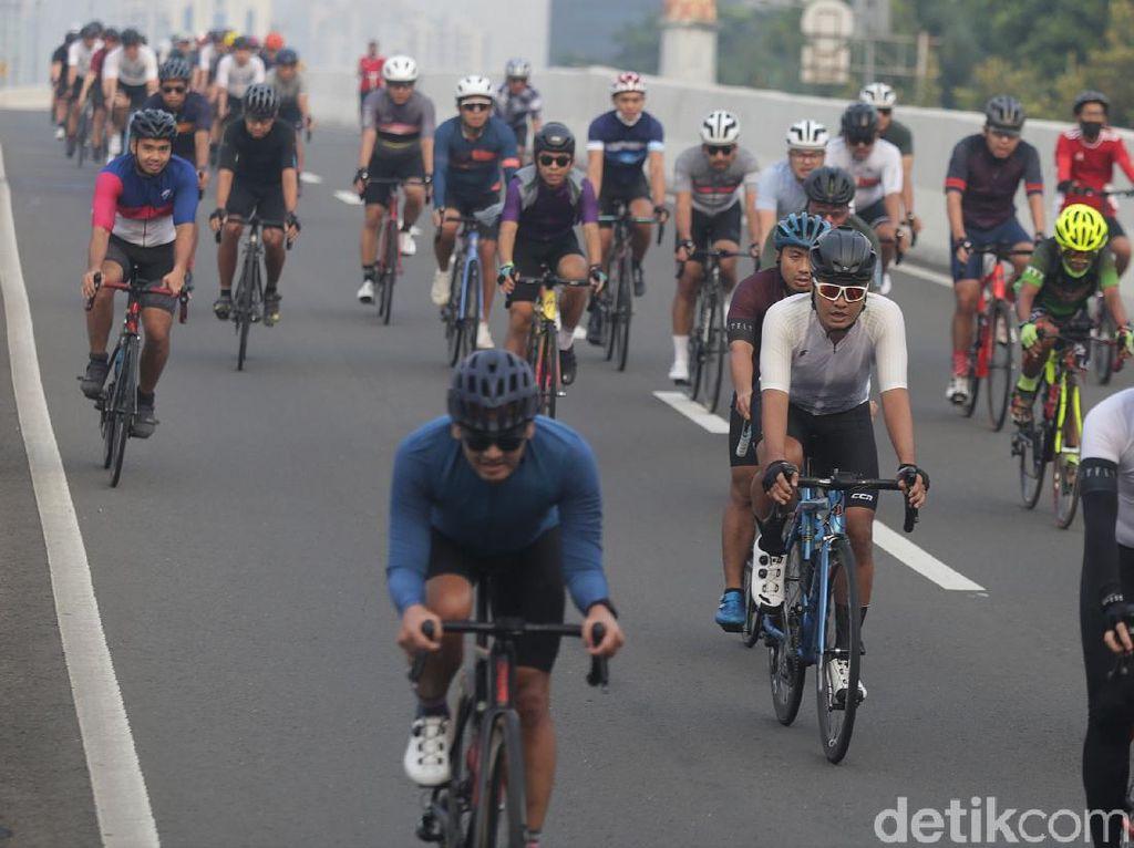 Road Bikers di JLNT Kp. Melayu-Tanah Abang Alami Peningkatan
