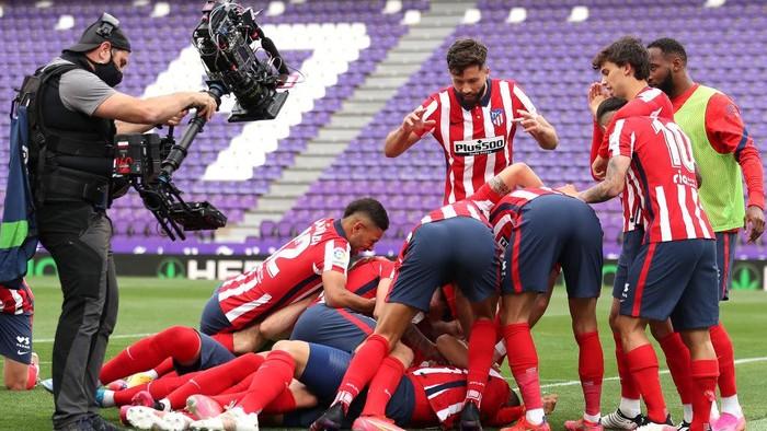 Valladolid Vs Atletico: Menang 2-1, Luis Suarez cs Juara Liga Spanyol!