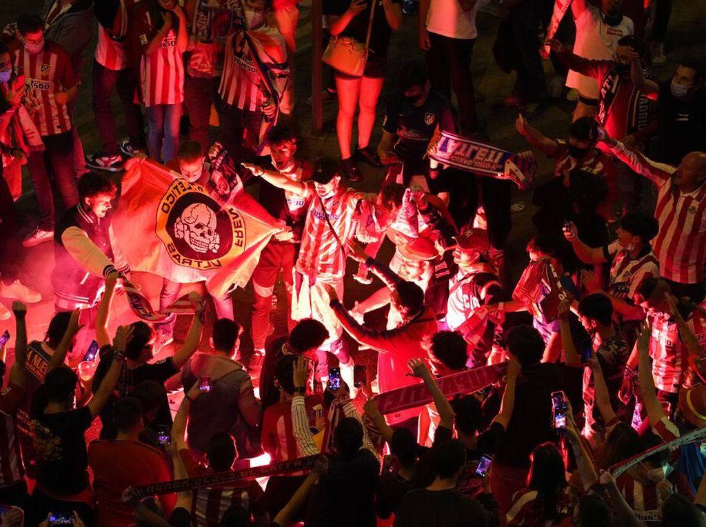 Atletico Juara Liga Spanyol, Bocah 14 Tahun Meninggal Saat Perayaan
