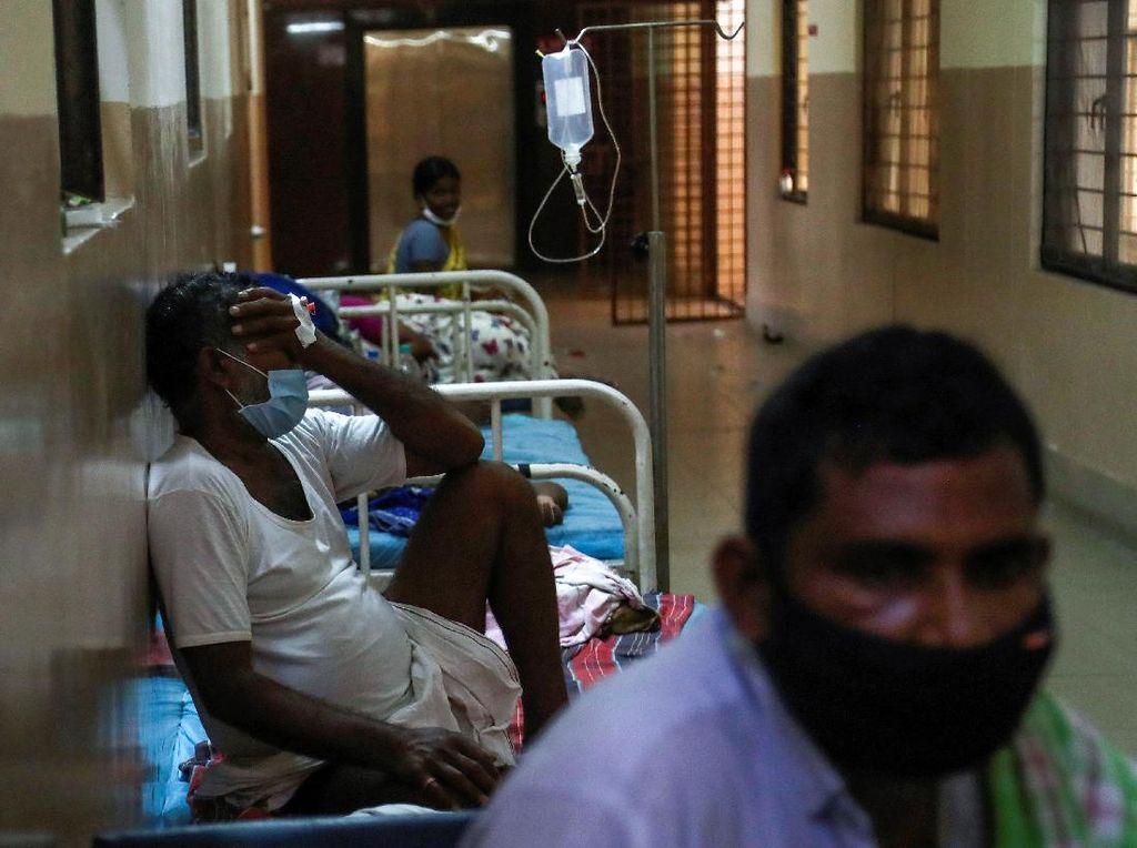 Keterkaitan COVID-19 dengan Ledakan Kasus Jamur Hitam di India