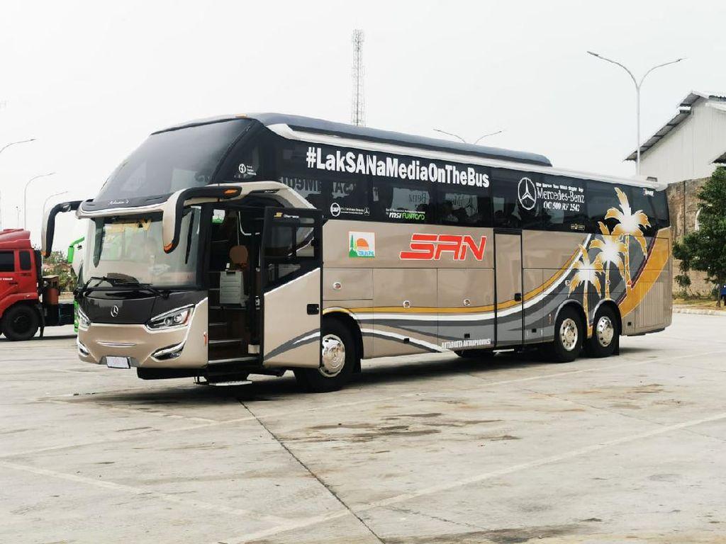 Digunakan Transjakarta Sampai AKAP, Ini Daftar Bus Tronton yang Ada di RI