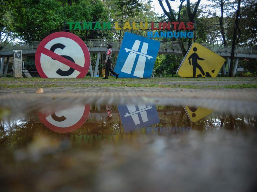 Cegah Corona, Taman Lalu Lintas di Bandung Ditutup Sementara