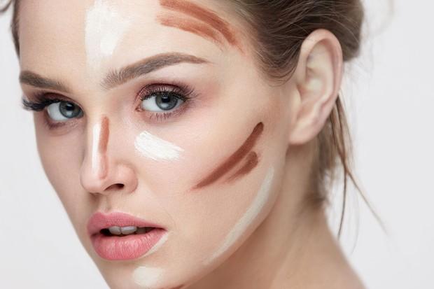 foto: Menggunakannya sebagai contour/100percentpure.com