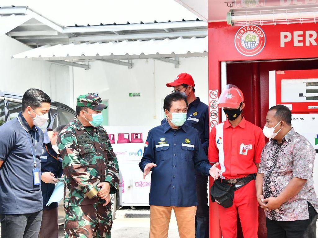 BPH Migas Puji Pertashop Terintegrasi di Kabupaten Bandung