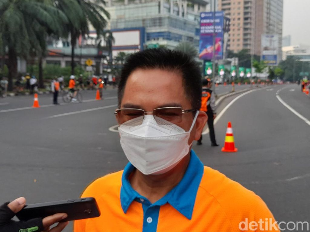 Pemprov DKI Evaluasi Uji Coba Road Bike JLNT Kp Melayu-Tanah Abang