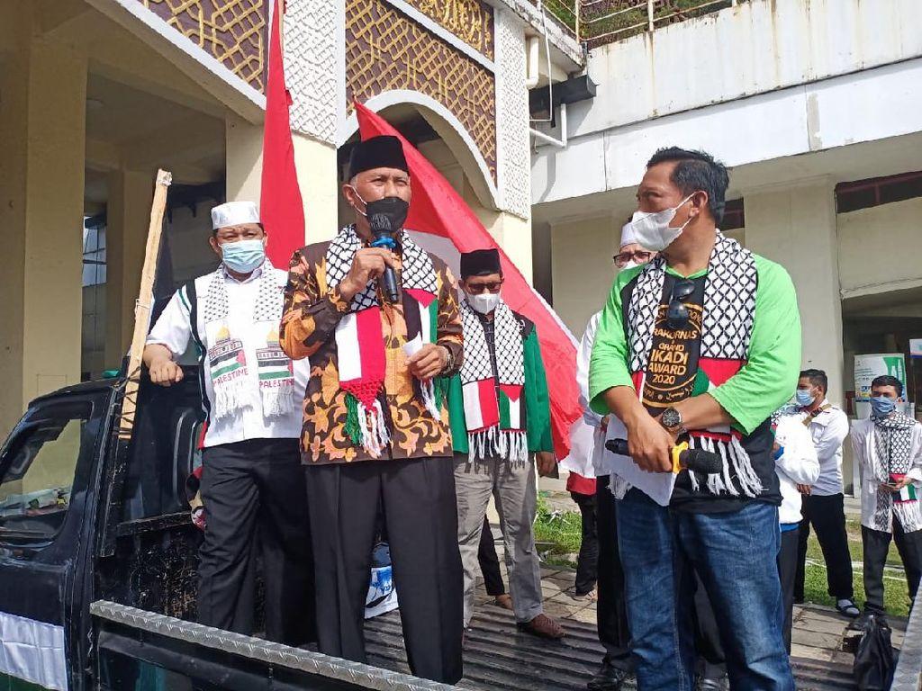 Kutuk Keras Israel, Gubernur Sumbar Ikut Aksi Bela Palestina