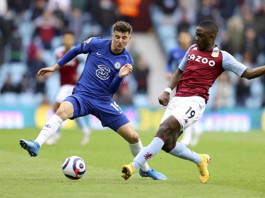 Aston Villa Vs Chelsea: The Blues Tertinggal 0-1