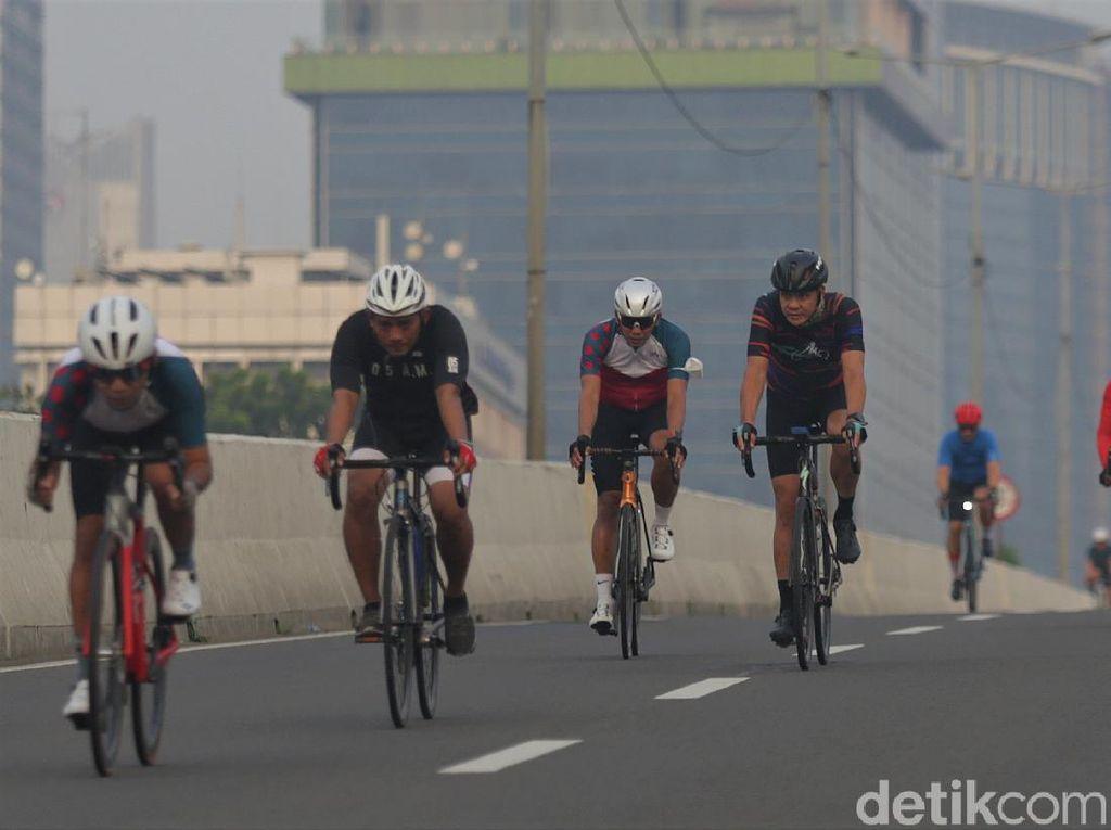 Dispensasi Road Bike Keluar Jalur Sepeda, Polisi: Win-win Solution