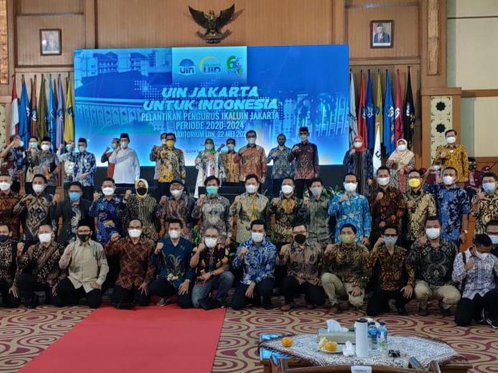 Pengurus IKALUIN Periode 2020-2024 Dilantik, Ace Hasan Jadi Ketum