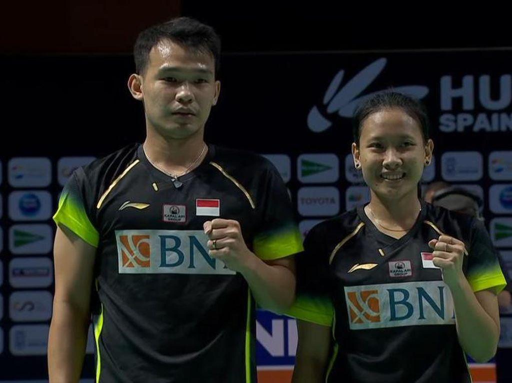 Rinov/Pitha Menang, Indonesia Raih 4 Gelar di Spain Masters 2021