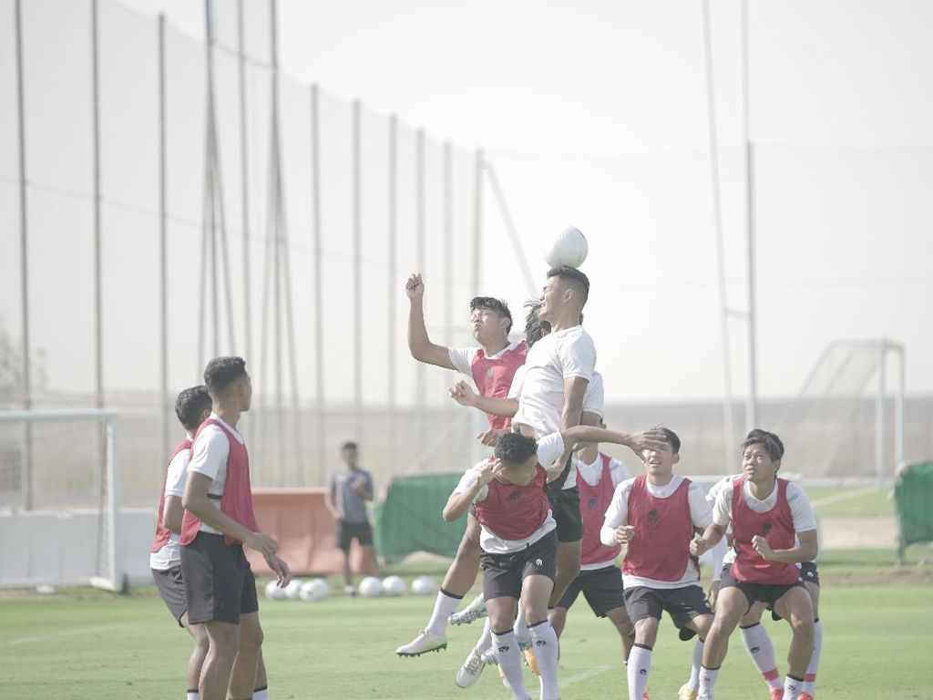 Shin Tae-yong Kurangi Porsi Latihan Timnas Indonesia Jelang Uji Coba