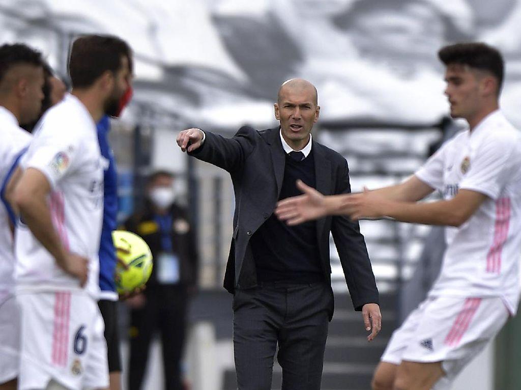 Zinedine Zidane Bahas Nasibnya Usai Real Madrid Gagal Juara LaLiga