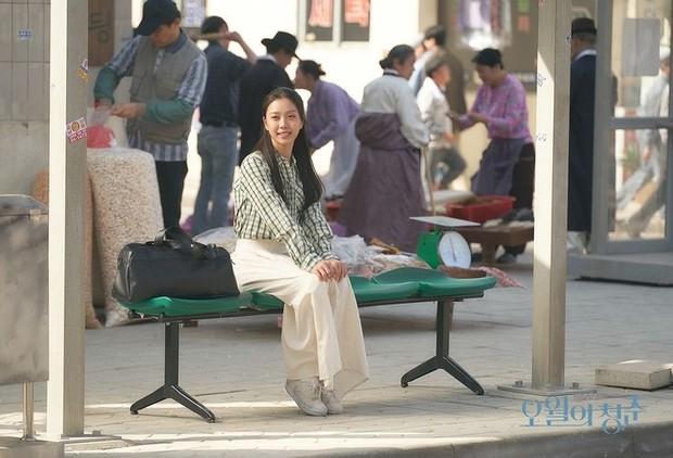 Aktris Go Min Si saat memerankan karakter Kim Myung Hee dalam drakor Youth of May.