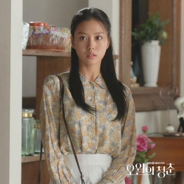 Aktris Go Min Si saat memerankan karakter Kim Myung Hee dalam drakor Youth of May