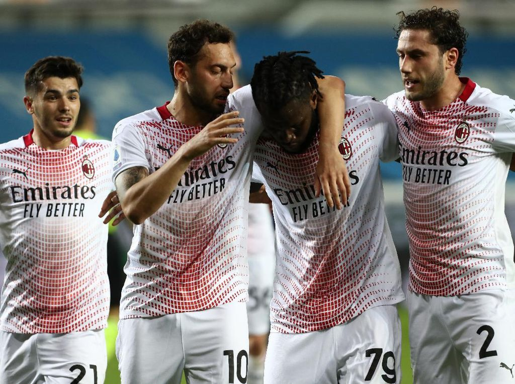 Atalanta Vs AC Milan: Menang 2-0, Rossoneri Jadi Runner Up Liga Italia
