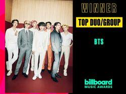 BTS Jadi Top Duo/Group di Billboard Music Awards 2021