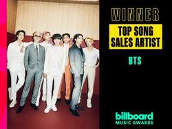 BTS Sabet Gelar Top Song Sales Artist BBMAs 2021