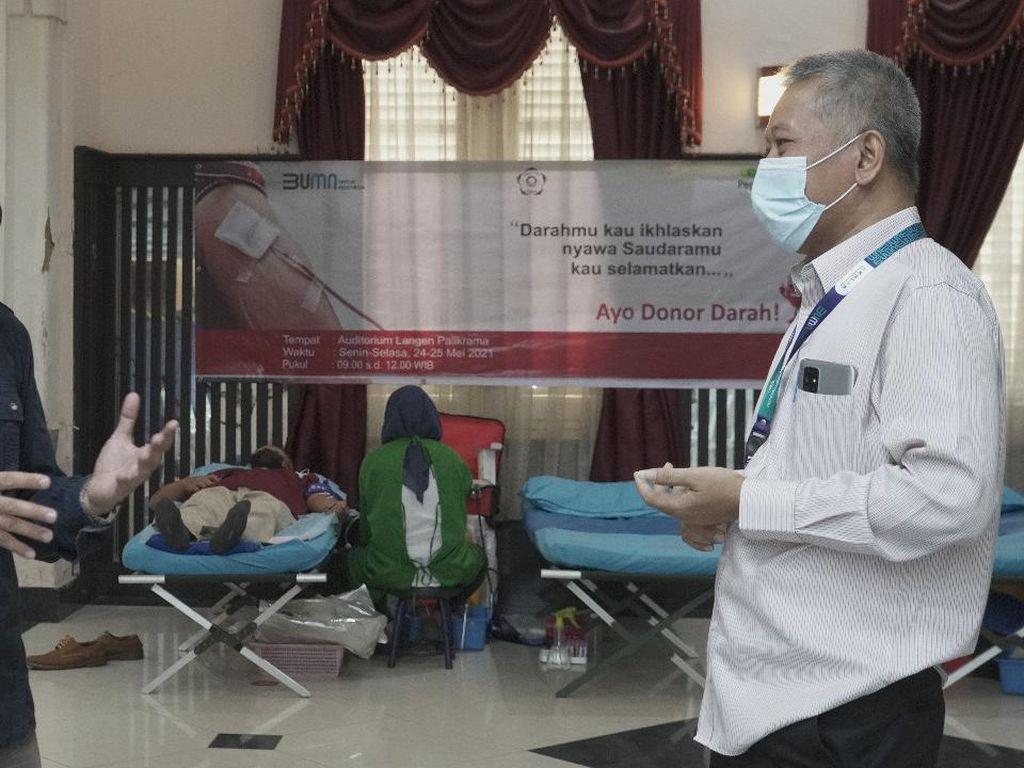 Peduli Kemanusiaan, Pegadaian Gelar Donor Darah