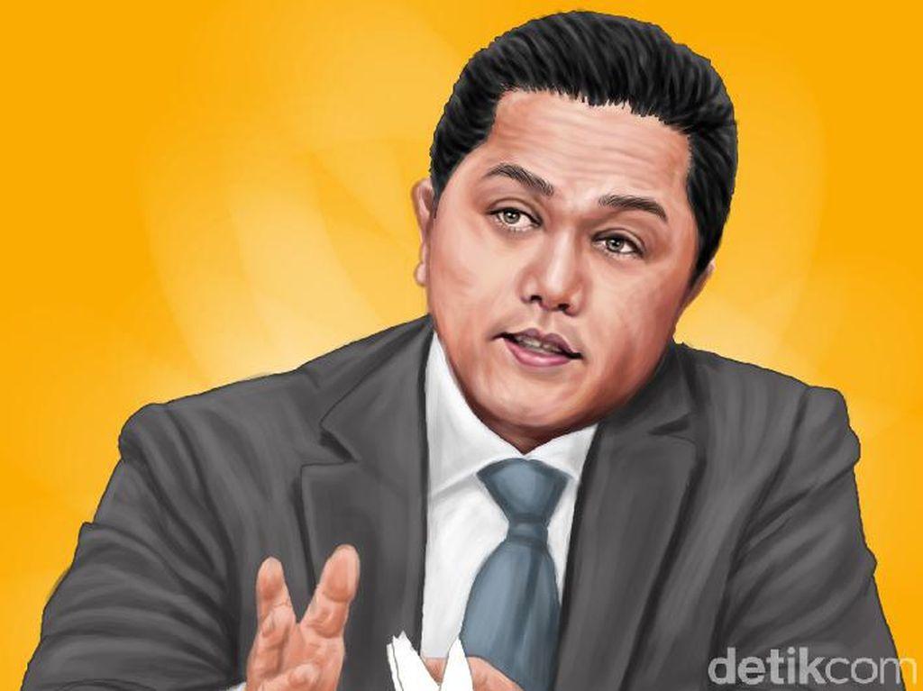 Erick Thohir Blak-blakan Utang PLN Tembus Rp 500 T