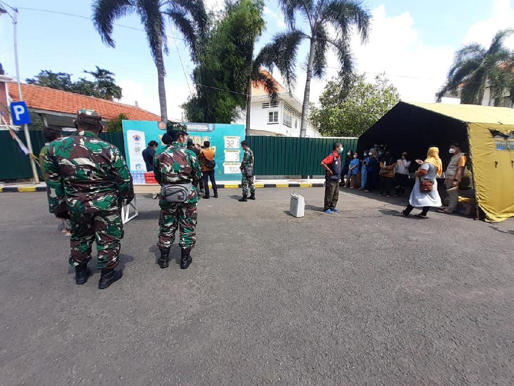 Usai Libur Lebaran, Jumlah Pasien COVID-19 di RS Lapangan Indrapura Naik
