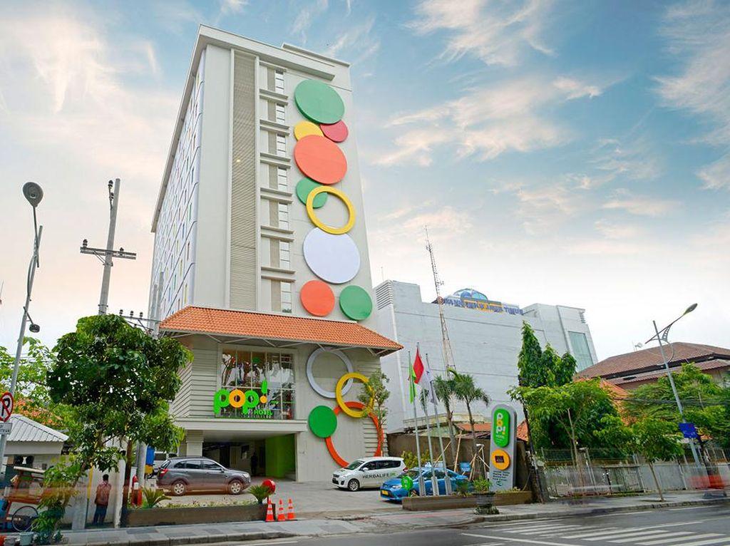 Pop!Hotel Diponegoro, Hotel Bujet Favorit Wisatawan di Surabaya