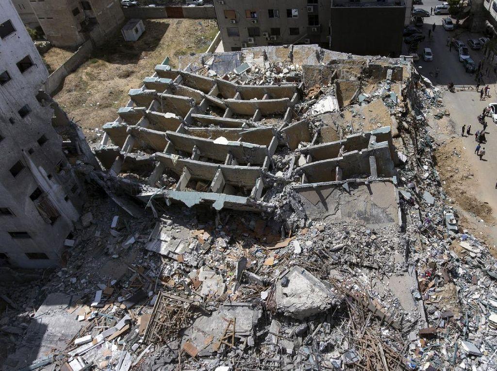 Gaza Mulai Rekonstruksi Usai Gencatan Senjata