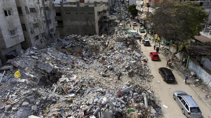 INI LOH BEBERAPA POTRET KERUSAKAN PALESTINA AKIBAT SERANGAN UDARA ISRAEL