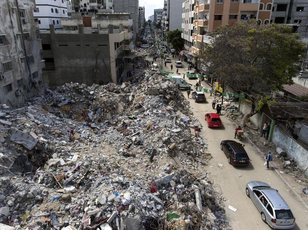 Hamas Janji Tak Akan Ambil Dana Bantuan untuk Bangun Gaza
