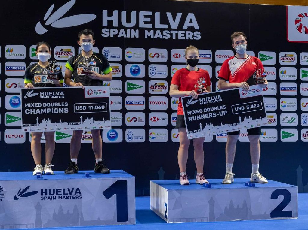 Juara Spain Masters 2021, Rinov/Phita: Alhamdullilah Penuhi Target