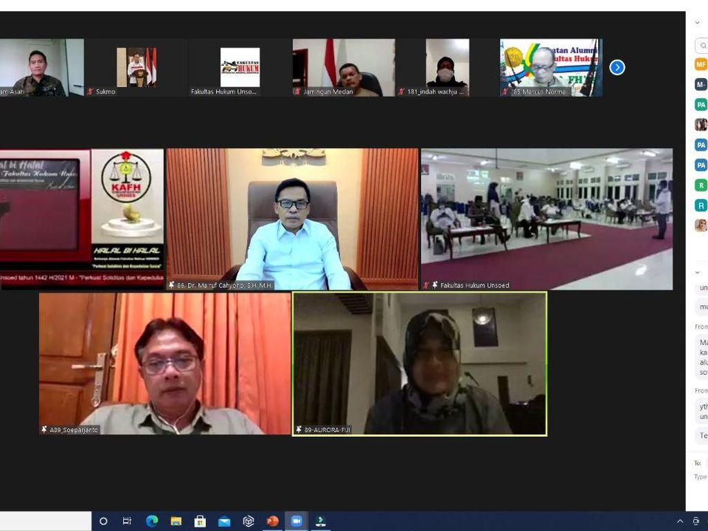 Maruf Cahyono Ingatkan Alumni Unsoed soal Kontribusi ke Negara