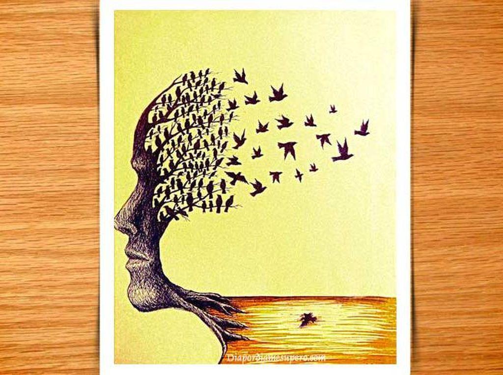 Tes Kepribadian: Gambar Burung atau Wajah yang Pertama Kali Kamu Lihat?
