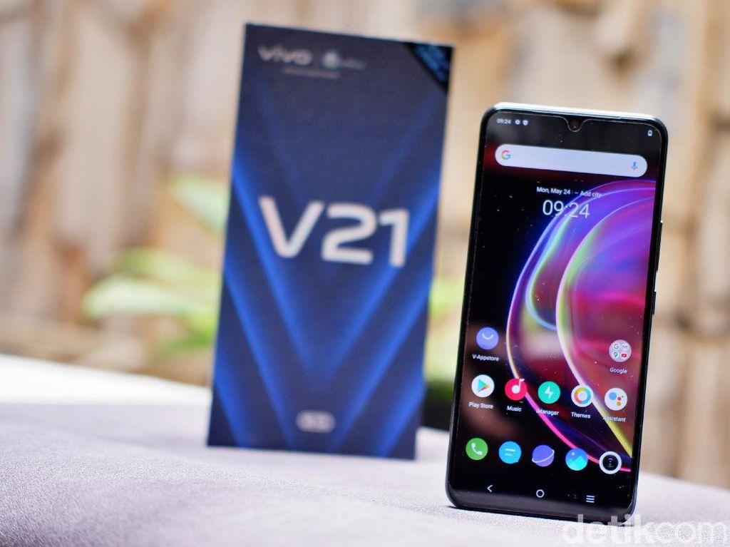 Review Vivo V21 5G, HP Rp 5 Jutaan Bergaya Flagship