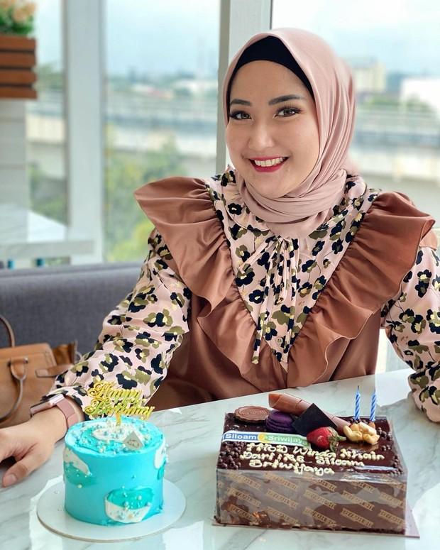 Winda Khair artis FTV asal Medan yang telah mengenakan hijab/instagram.com/windakhair