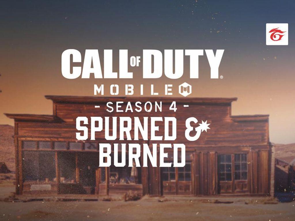 Call of Duty: Mobile Hadirkan Tema Baru Spurned & Burned di Season 4