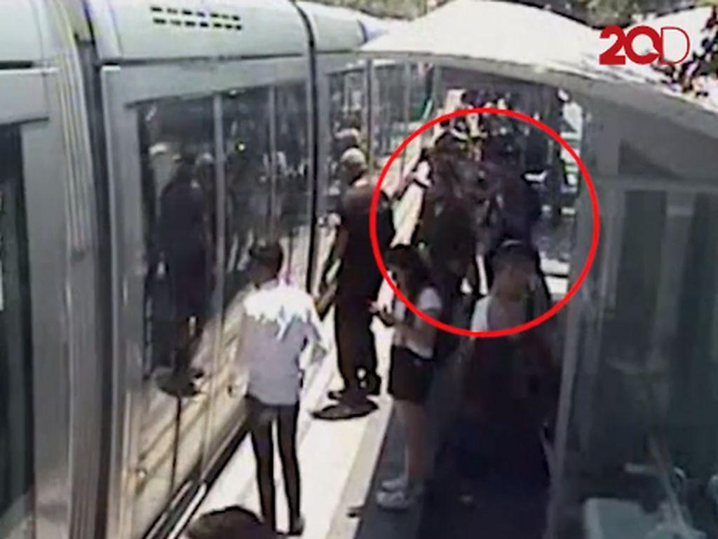 Detik-detik Tentara Israel Ditikam dalam Stasiun di Yerusalem