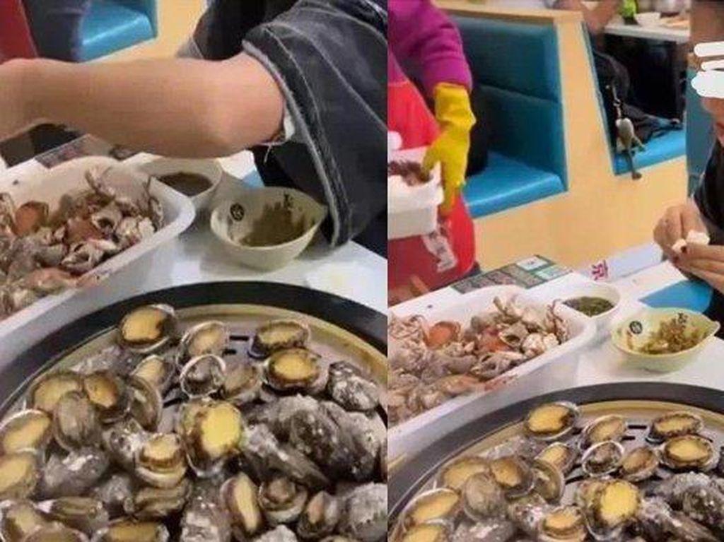Duh! Pemilik Resto AYCE Maki Pengunjung yang Ambil Makanan Mahal