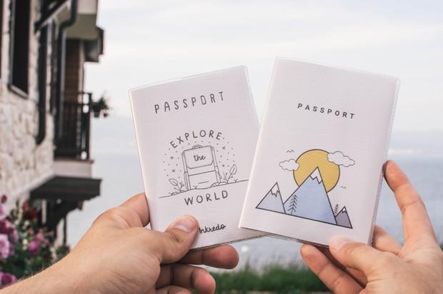 Passport holder.