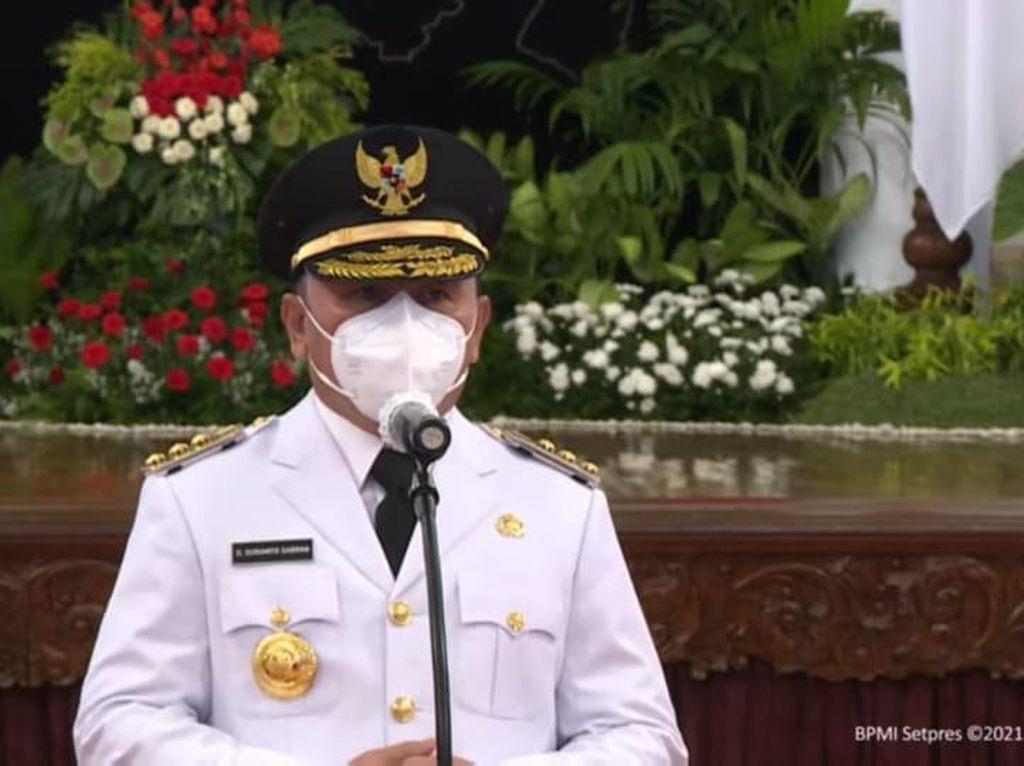 Dilantik Jadi Gubernur Kalteng, Sugianto Ungkap Pesan Jokowi
