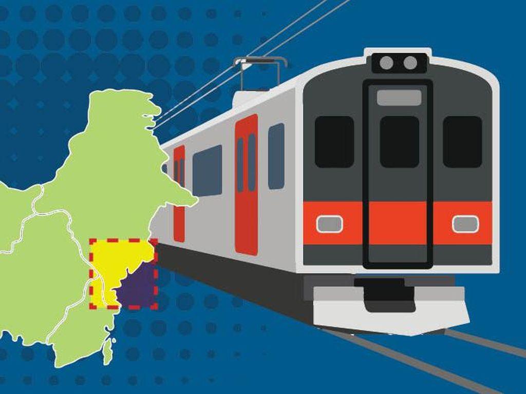 Sssttt... Bocoran Rute Kereta Ibu Kota Baru Nih