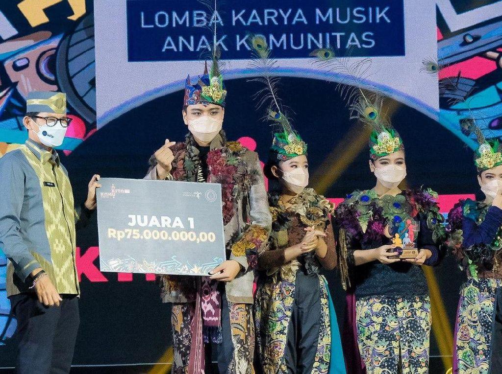 Grup Musik dari Jember Jadi Juara Lomba Musik Kemenparekraf